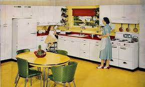 Attractive 50s Style Kitchen And Catchy Collections Of Decor 17 Best Vintage 40 S 50