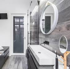 kleines badezimmer mit dusche gestalten