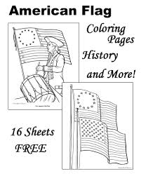American Flag Coloring Pages And History