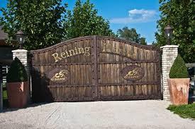 Large Rustic Ranch Gates