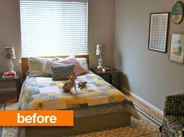 Before After 3 Easy Inexpensive Ideas For Making Rooms Look