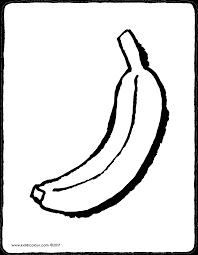 Coloriage Gorille Banane à Imprimer