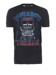 Heavy Trucking Cotton T-shirt By Dsquared2 - T-shirts   Shop Online ... Texas Chrome Tshirts Shop Trucker Tshirts Andy Mullins Dsquared2 Heavy Metal Trucking Tshirt Now 17300 Toprun Truck From All Over The World Xclusive Cool Apparel Merchandise Truckin Adult Size Tiedye Tshirt Grateful Dead And Company Co Large Marge Co Pee Wees Big Adventure Parody We Design Custom Shirts I Work At Celadon Hoodie Tops T Shirt Mens Short Cotton Crew Neck Truck Driver Cotton Tshirt By Hirts Online Truklife Widowmaker Freight Inc King Unisex