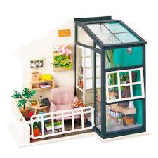 100 Www.homedecoration Robotime DIY Mini Dollhouse Building Model Home Decoration