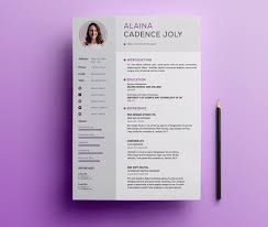 100 Free Professional Resume Templates 75 Best Of 2019