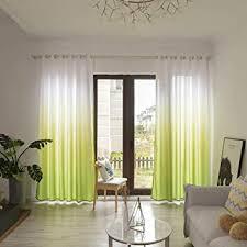 letter54 2019 wohnzimmer gardinen 200x100cm modern blätter