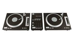 Flat Top Lay Home Music Studio Dj And Producer Equipment On The