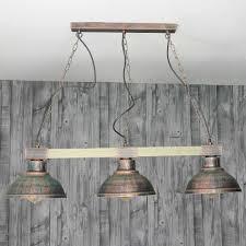 licht erlebnisse lu1 4 394 hakon pendelleuchte 3xe27 in kupfer vintage esszimmer küche