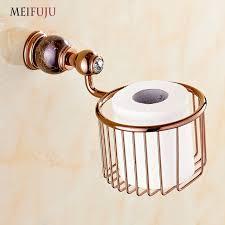 support a papier de toilette or marbre rouleau de papier toilette salle de bains