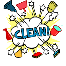 Sparkling Clean Kitchen Clipart