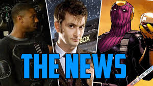 Fantastic Four Suits REVEALED DrWho David Tennant Joins MARVEL Baron Zemo IN Civil War