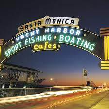 California Beaches With A Pier And Ferris Wheel