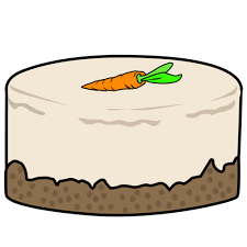 Carrot clipart carrot cake 5