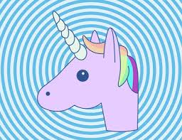 Unicorn Emoji Gifts Rainbow Wallpaper Glitter Background Yahoo Search Gifs Cute Wallpapers Mythical Creatures Searching Rainbows Notebook