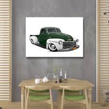 100 Old School Truck Lowered Chevy JJ Custom Art Works