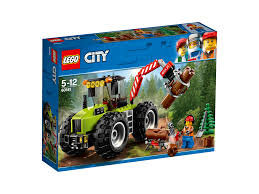LEGO 60181 Hutan Kota Traktor Mainan LEGO 60137 Kota Tow Truck ...
