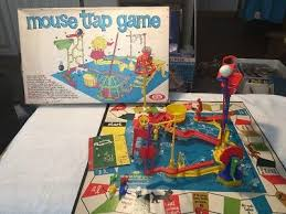 Vintage Mouse Trap Board Game Ideal 1963 Original Box 99 Complete