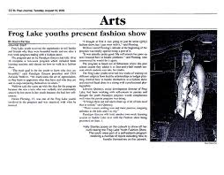 Frog Lake Youths Present Fashion Show