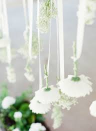 Hanging Floral Wedding Ceremony Backdrop