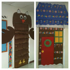 For Fall I Decorated My Classroom Door As An Owl I Turned The Owl