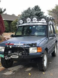 Hella Roof Lights On A 1995 Land Rover Discovery 1 TDI Conversion ... Baja Designs Lapaz 8 Lights For Overland Adventures And Offroad Cheap Roof Light Bar Trucks Find Clearance Lights Page 3 4th Gen Cab Roof On My 045 Turbo Diesel Register A Truck Led Solar Ancastore Xprite 5pcs Black Smoked Led Top Cab Marker Running To Fit Mercedes Atego Polished Stainless Steel Front 5pc 12v White Car Covers 16led Suv Rv Why Can A Strip Of Allow For Aero Tuning But Literally Driving Your 4 Wheel Drive