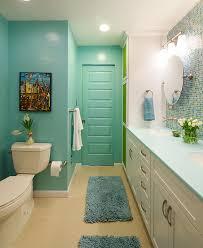 Colorful and Modern Bathroom Contemporary Bathroom DC Metro