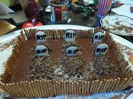 Halloween Graveyard Fence by It U0027s A Thing Graveyard Cake