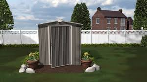 6x5 Shed Double Door by Ezee Shed Series Youtube