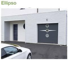 porte sectionnelle sur mesure porte de garage sectionnelle sur mesure lisse avec