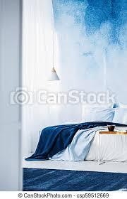 blaue wand im schlafzimmer 100 bilder schlafzimmer