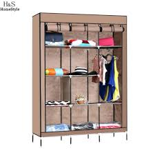 Closet Portable Storage Closet Buy Dust Proof Clothes Wardrobe