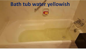 Bath tub water yellowish Picture of Cititel Mid Valley Kuala