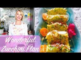 Wonderful Zucchini Flan