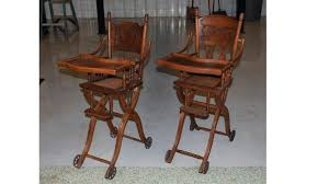 Two High Chairs Vintage Wooden Highchairs For Children ... Old Wooden High Chair Facingwalls Antique Reproduction Ash Wood Ding Table With Italian American Style Fniture Sofa Chairantique Luxury Real Leather Throne Sofaclassic Hand Carved Wood Bf01xy1008 Buy Classic Frame Cushion For Vintage Chairs Custom 1900 Heirloom Baby Solid Oak Past Projects Rjh Collection American Iron Bar Stool High Chair Backrest Contracted To Do Awesome Picture Of Kitchen Ding Room Image Bentwood Lattice Highchair Teak And Chairs Tables Red