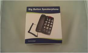 Low Vision Phones Corded Cordless Cell Phone