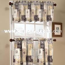 Wine And Grape Kitchen Decor Ideas by Decor Tier Kitchen Curtains Walmart With Country Pattern For