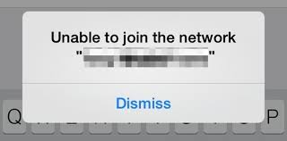 "How to Fix an ""Unable to Join the Network"" Error in iOS"