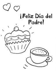 ausmalbild vatertag kaffee und kuchen zum vatertag