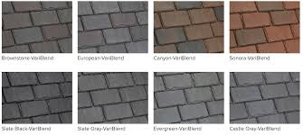 synthetic composite slate shake roofing costs davinci roofscapes