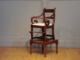 SOLD/19TH CENTURY CHILDS MAHOGANY HIGH CHAIR - Antique SOLD ... Safety First Timba Highchair White High Chairs Strolleria Ikea Chair With Standing Laptop Station Fniture Little Girl Standing Image Photo Free Trial Bigstock Handsome Artist Eyeglasses Gallery Amazoncom Floorstanding High Bracket Bar Lift Modern Girl Naked On A Chair Stand In The Bathroom Tower Or Learning Made Splendid Office Desks Amusing Solar Cantilever Leander Free Worth Vitra Rookie