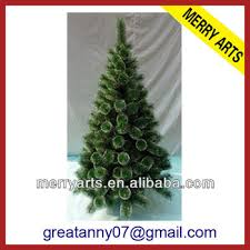 New Product Artificial Revolving Xmas Trees Stand Rattan Snow Needle