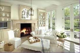 Rustic White Living Room Furniture Distressed