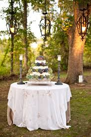 Wedding Cakes Cake Table Lights Ideas