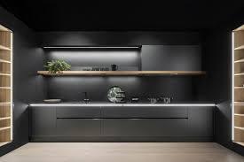 schwarze oberfläche in matt leicht küchen bild 3