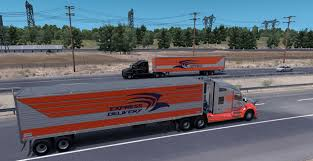 Express Delivery Trailers Mod - American Truck Simulator Mods A Bunch Of Reasons Not To Ever Work For Western Express Expedite Truckload Specialized Flatbed Air Charter And Ownoperator Niche Auto Hauling Hard Get Established But The Railway Agency Trucking Fleet Graphics Ellwood City Pa Custom Signs Vinyl Heartland 7 Why Working Averitt Is Probably A Lot More Is This The Best Type Cdl Job Drivers Love It 3d Postal Truck Fast Image Photo Bigstock Daybreak Utility 3000r Reefer Trailer Skin American Electric Charges Up Wsj Mc Llc
