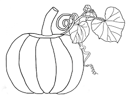 Pumpkin Coloring Page Free Printable Pages For Kids To Download