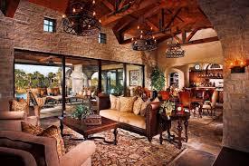 Tuscan Farmhouse 2 Mediterranean Living Room