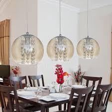3 light grey glass shade pendant light for kitchen