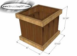 cedar trellis and planter box combo functional design diy