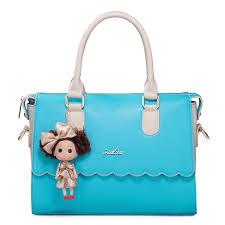 Barbie Girl Early Spring Series Candy Color Handbag Blue